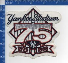 Authentic MLB- Yankee Stadium 75th Anniversary 1998 patch NOS