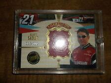 NASCAR ELLIOTT SADLER RACE-USED CAR COVER CARD #365/400 PRODUCED PRESS PASS