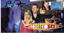 "Doctor Who Collectable Stamp Cover ""Aliens of London"" - Signed by ERIC POTTS"
