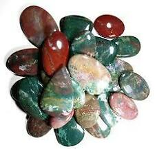 5000CT.~LOT 50PC WHOLESALE NATURAL BLOODSTONE MIX CABOCHON LOOSE GEMSTONE