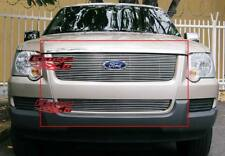 Fits 2006-2007 Ford Explorer Billet Grille Combo