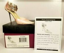 Just The Right Shoe by Raine ~ Pink Champagne 57.26004 ~ Miniature Collectible