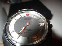 OMEGA Vintage Constellation Chronometer Date 40mm Electronic f 300 Hz 70er + Box