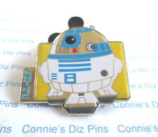 R2 - D2  DROID ROBOT from STAR WARS Movie - WDW DLR 2015 Lucas Disney Pin