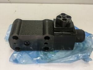 Parker VV01-321-W01-F1 Hydraulic Vent Valve Solenoid Operated 115V