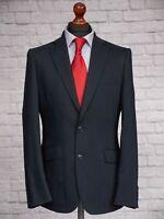Marks & Spencer Performance Slim Men's Suit Jacket 40R Navy Blue