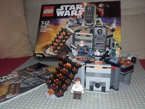 Lego Star Wars - 75137 - Carbon-Freezing Chamber + Complet