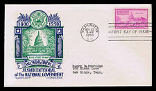 1950 U.S. #992 1ST DAY COVER - SESQUICENTENNIAL OF NAT'L. GOV'T. - VF (ESP#4265)