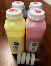 """(200g x 4) Toner Refill for Xerox Phaser 7760, 7760DN DX """"ECONOMY SIZE"""" + 4 Chip"""