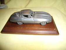 (rare) EARLY AVON (pewter) CHEVROLET COVETTE 1/43 DIECAST CAR WITH STAND