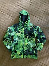 Nike SB Kampai Green Neon Tie Dye Print 6.0 Snowboarding Jacket Size XL Burton