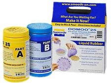 Smooth-On OOMOO 25 - FAST Curing Mold Making Silicone Kit - 2 Pints - EASY! , ki