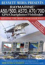 Raymarine A50/50D, A57D, A70/70D GPS/Chartplotter/Fishfinder (2012, DVD NEW)