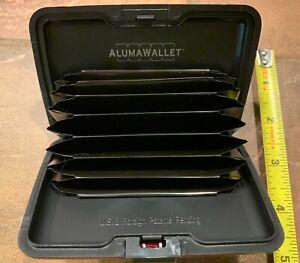 Aluma Wallet  Accordion Style Wallet Red