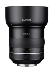 Samyang XP 85mm F1.2 Prime Objectif : Canon AE Ef Support