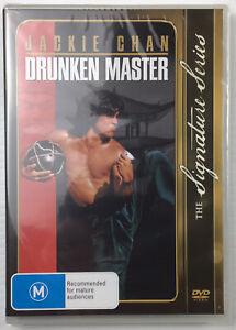 Drunken Master 1978 DVD Jackie Chan Action Comedy Martial Arts Kung Fu NEW Reg 4