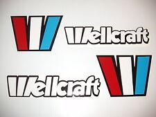 WELLCRAFT BOAT DECALS Marine Vinyl  each 18 inch wide