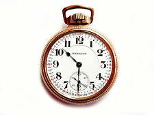 Mega Rare Antique Railroad 18s 21j Hamilton 992  Pocket Watch. Mint Serviced