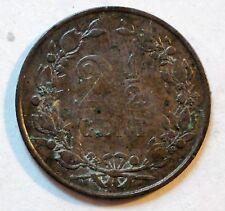 Niederlande / Nederland - 2 1/2 Cent - 1880 - ss (Q32
