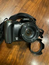 Canon PowerShot SX20 IS 12.1MP Digital Camera - Black With 16GB SD Card