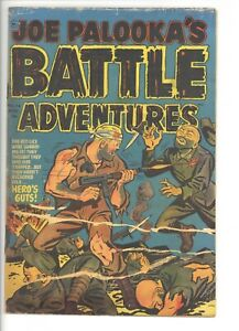Joe Palooka's Battle Adventures 74 (FRG) Harvey 1952 War Golden Age (j#1351)