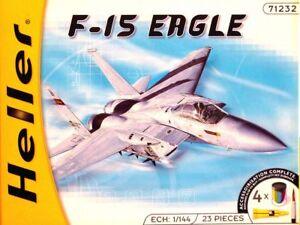 Heller 1:144 F-15 Eagle Aircraft Gift Set Model Kit