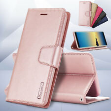 For Samsung Galaxy Note 8 Luxury Original Hanman Leather Wallet Flip Case Cover