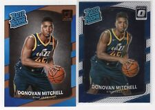 2017-18 Donruss Rated Rookie + Donruss Optic Donovan Mitchell
