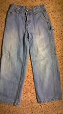 Boy's Old Navy Painters Cargo Jeans Size 7 Slim