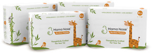 MamaNose 30Nappies+60Wipes -Harmful Chemical Free-Eco-friendly Biodegradable