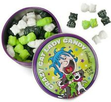 Crazy Cat Lady Candy Tin (80) Mint Candies Accoutrements