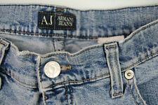 Genuine Armani Jeans - Comfort Fit - Sz W31 - Faded Distressed Stretch