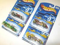 Extreme Sports Series Complete Series Set Hot Wheels Die Cast Cars - Lot of 4