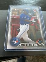 2016 BOWMAN VLADIMIR GUERRERO JR 1ST ROOKIE #BP55 BLUE JAYS