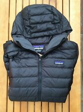 PATAGONIA Women's Down Sweater Hoody Jacket, Black, Size Large, NWT