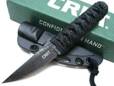 COLUMBIA RIVER CRKT Tactical OBAKE SKOSHI Acid Etched Fixed Knife + Sheath! 2365