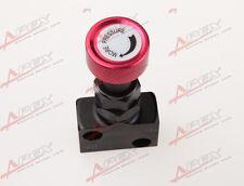 Adjustable Knob Screw Type Brake Proportioning Valve Bias Valve Red/Black