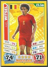 TOPPS MATCH ATTAX  BRAZIL 2014 WORLD CUP- #022-BELGIUM-AXEL WITSEL