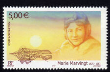 STAMP / TIMBRE FRANCE NEUF POSTE AERIENNE N° 67 ** MARIE MARVINGT