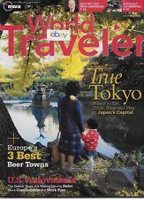 NORTHWEST AIRLINES WORLD TRAVELER MAGAZINE 10/2008 TRUE TOKYO-MEMPHIS-DTW AUTO