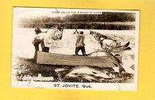 RPPC St.Jovite,Quebec Canada, come on up fishing is good EXAGGERATION used 1950