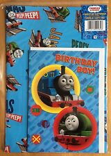 Thomas & Friends Wrapping Paper Card & Tag Set -1 Sheet & 1 Tag (approx 50x70cm)