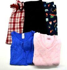 Lot of 5 Secret Treasures Gap Old Navy Women S Sleepwear Pajamas Shirts Pants