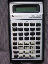 TEXAS INSTRUMENTS TI-30 LCD Scientific Calculator & BOX Vintage 1980 ORIGINAL!