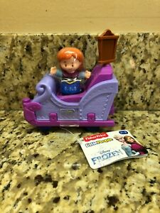 Fisher Price Little People Disney Frozen Anna and Vehicle
