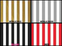 "STRIPE Design Gift Grade Tissue Paper Sheets 15"" x 20"" Choose Color & Package"