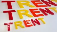 Perspex Acrylic Letters 150mm high 5mm, Laser cut, Craft, Personalised, Alphabet