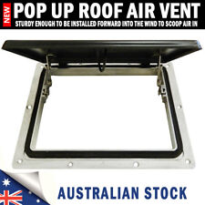 NEW Pop up Roof Air Vent Large Horse Float Trailer Caravan RV Canopy Camper
