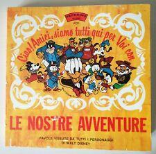 Paperino Records Cofanetto 6 X 45 giri Le Nostre Avventure anni sessanta