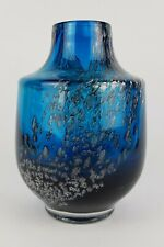 Design Vintage 1960s-1970s SCHOTT ZWIESEL Glass Vase Florida Fat Lava Era